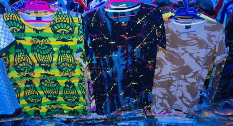 Pantalon, chemises et casquettes a vendre sur Nouakchott