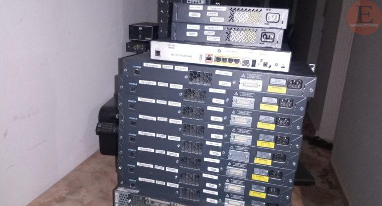 Les équipements Cisco systems switch, routeur, serveur etc…
